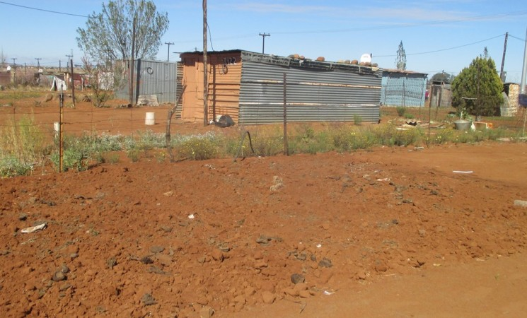 Vegetable tunnel progress in the townships of Mangaung during October 2015