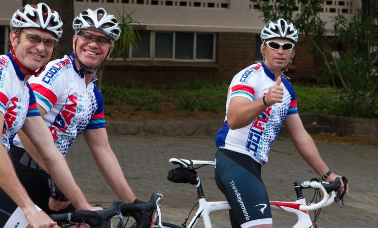 Pedal 4 Purpose: 1146 km from Bfn to Ct For Beudene Daycare for Disabled & Alta Du Toit Care Centre