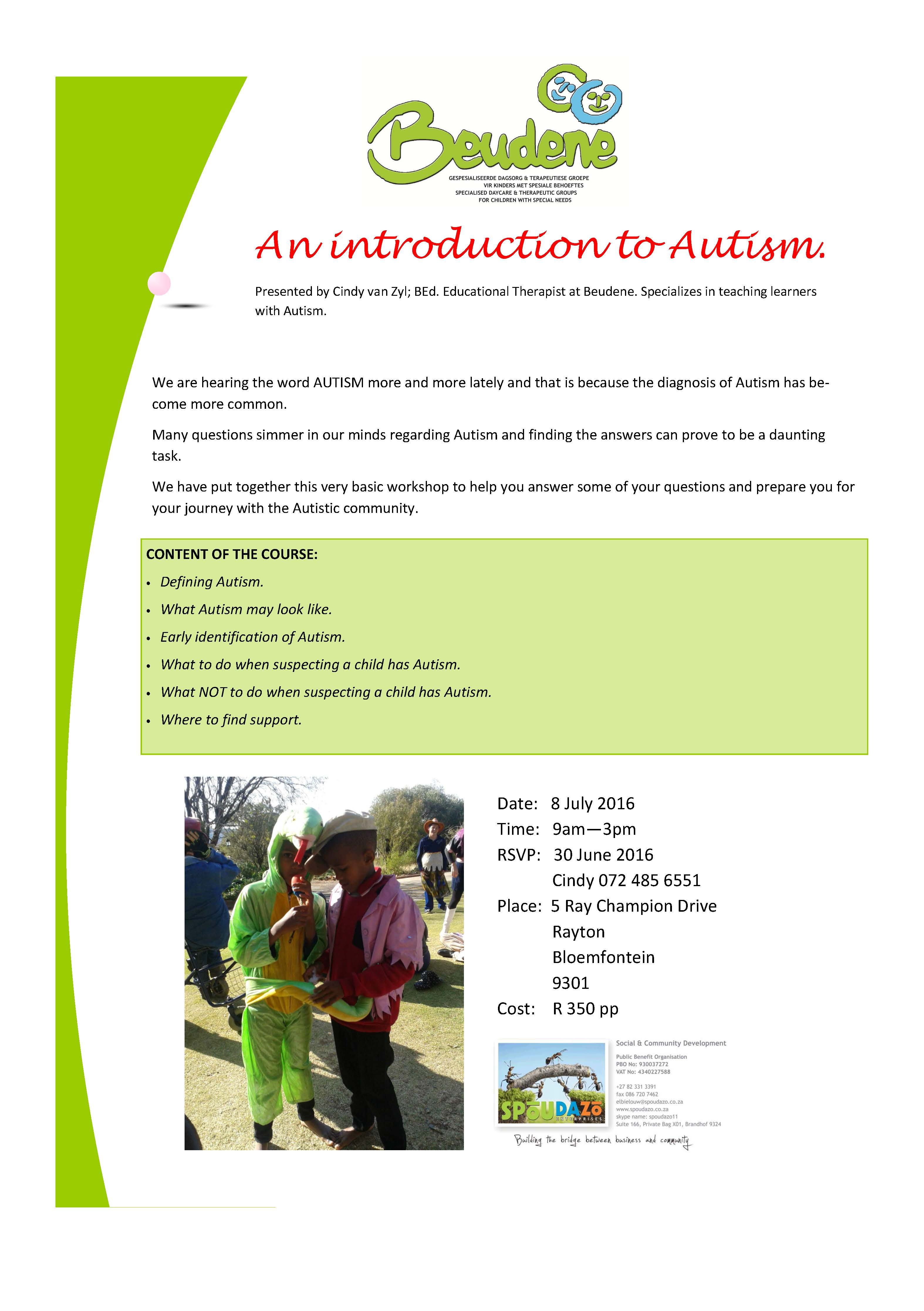 An introduction to Autism